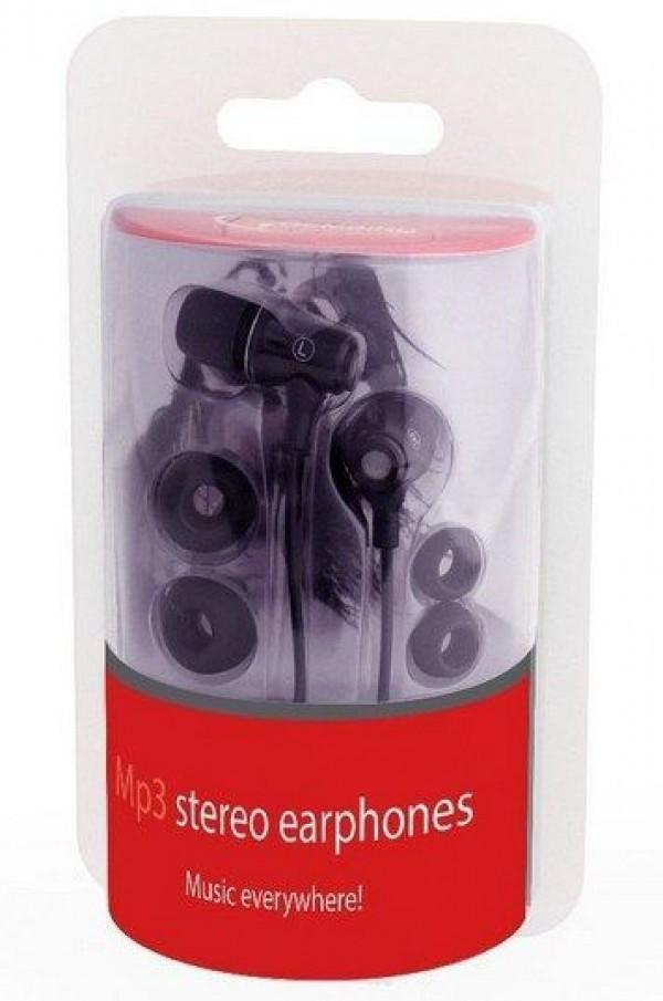 GEMBIRD MP3-EP01B  MP3 stereo slusalice metal black
