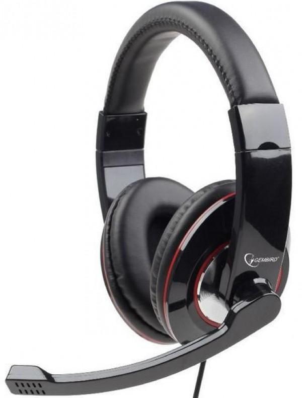 GEMBIRD MHS-001  Stereo slusalice sa mikrofonom + volume kontrol