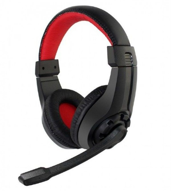 GEMBIRD GHS-01  Stereo slusalice sa mikrofonom+volume kontrolom