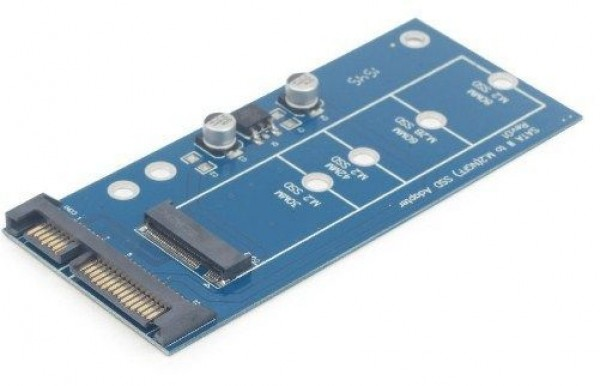 GEMBIRD EE18-M2S3PCB-01 M.2 (NGFF) to Micro SATA 1.8'' SSD adapter card