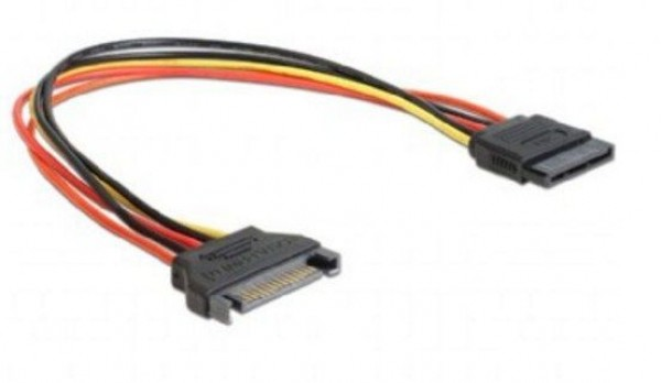GEMBIRD CC-SATAMF-01  SATA power extention cable, 0.3 m