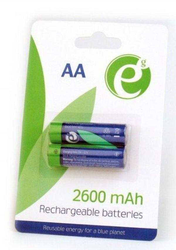 GEMBIRD EG-BA-AA26-01 ENERGENIE 2600mAh AA, PAK2 CK, PUNJIVE NiMH baterije (rechargeable)