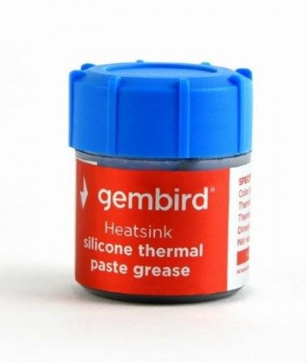 GEMBIRD TG-G15-02  Termalna pasta 15gr za CPU/VGA SILVER, Therm.conductivity 4.63W/m-k