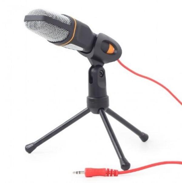 GEMBIRD MIC-D-03  mikrofon sa tripodom 3,5mm black