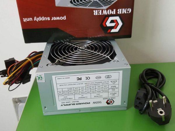 GEMBIRD GMB-560-12 napajanje 560W 12cm ventilator, 20+4pin, 2xSATA 2xIDE 4-p. sa kutijom (36ky)(900)