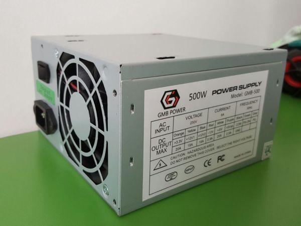 GEMBIRD GMB-500-8 napajanje 500W 8cm ventilator, 20+4pin, 4pin 12V, 2xSATA 2xIDE 4-pin, bez kutije(737)