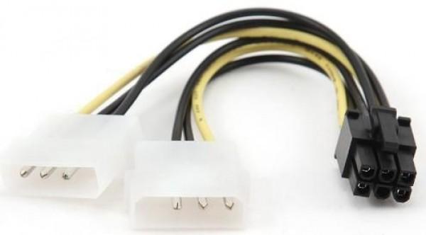 GEMBIRD CC-PSU-6  Internal power adapter for PCI express video cards 15cm