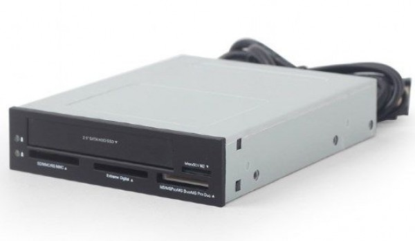GEMBIRD FDI2-ALLIN1-03  USB 2.0 interni citac kartica + 2.5\'' HDD/SSD sa SATA portom