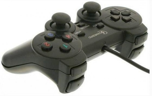 GEMBIRD JPD-THRILLERSHOCK-BOX  USB 2.0 analog vibration gamepad black(37ky) (375)