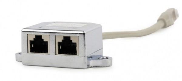 GEMBIRD NCA-SP-02  2-ports LAN-combiner/splitter, FTP