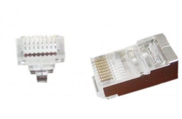 GEMBIRD LC-PTF-01/10  Universal pass-through modular FTP plug 8P8C (10kom u pakovanju) cena pakovanja