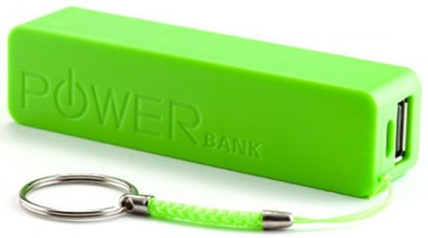 GEMBIRD HRD-T19-GR  2600mAh power bank (299) Li-Ion 18650