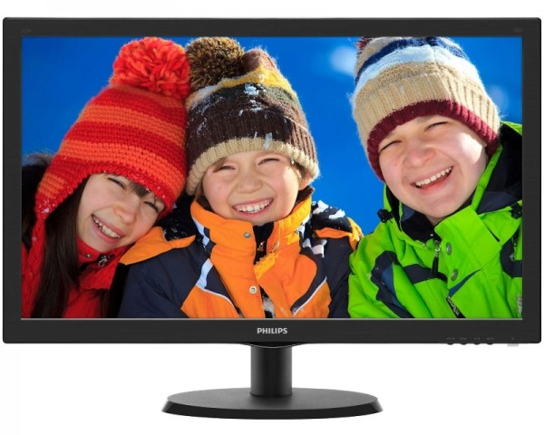 PHILIPS 21.5'' Monitor V-line 223V5LHSB200 LED