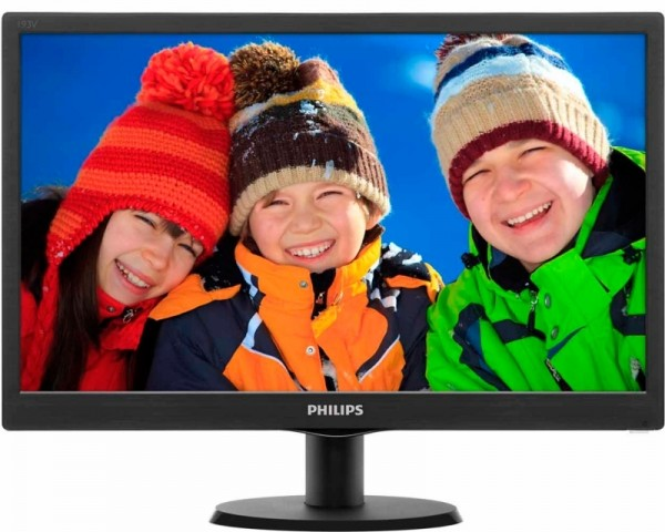PHILIPS 18.5'' Monitor V-line 193V5LSB210 LED