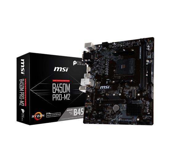 MSI AM4 Matična ploča B450M PRO-M2