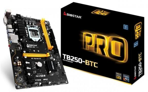 BIOSTAR 1151 Matična ploča TB250-BTC