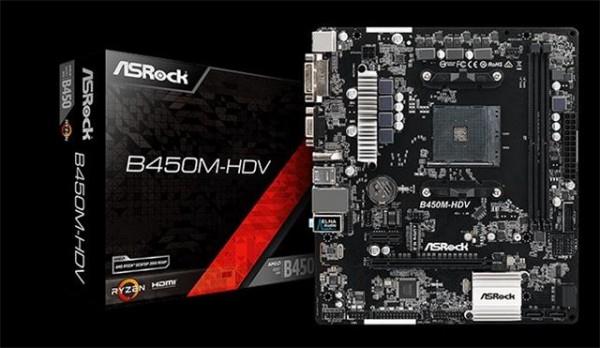 AsRock AM4 Matična ploča B450M-HDV