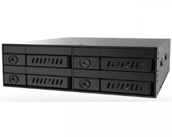 CHIEFTEC CMR-425 4 x 2.5'' SATA crna fioka za hard disk