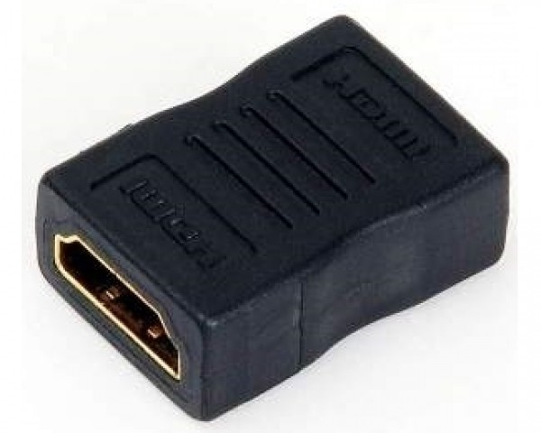 E-GREEN Adapter HDMI (F) - HDMI (F) crni