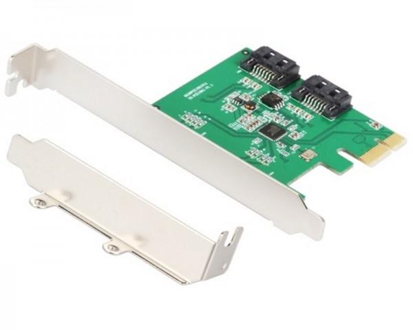 E-GREEN PCI-Express kontroler 2-port SATA III RAID