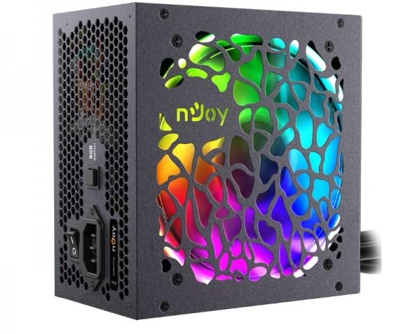NJOY Freya 600W RGB napajanje (PSAT-060ARAF-BU01B)
