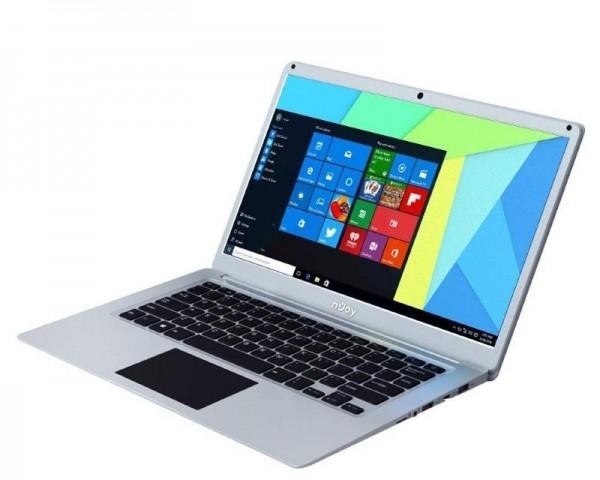 NJOY Ediam 14.1'' FHD Intel N4000 4GB 32GB SSD 1TB Intel UHD Windows 10 Home 64bit sivi