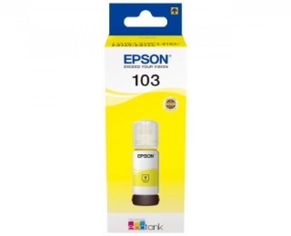 EPSON 103 žuti mastilo