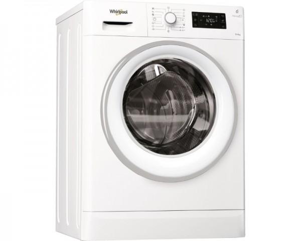 WHIRLPOOL Mašina za pranje i sušenje veša FWDG96148WS