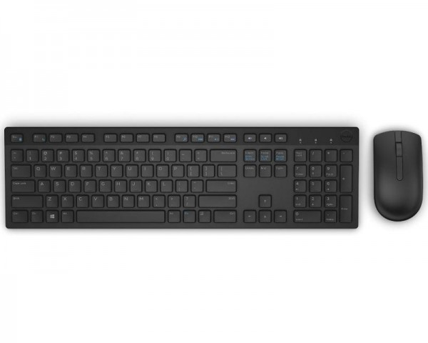 DELL KM636 Wireless US Crna tastatura + miš