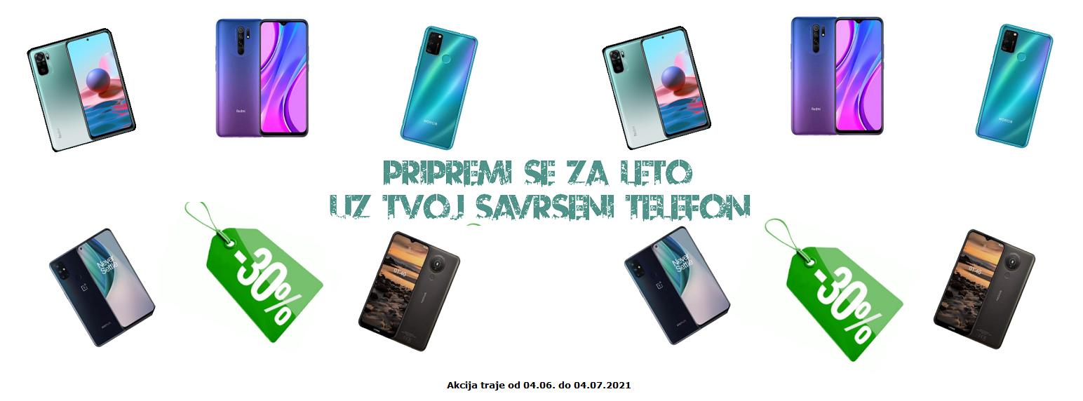 Akcija mobilni telefoni